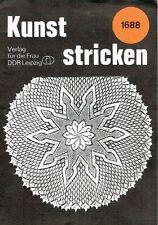 Kunststricken # 1688 Strickdeckchen - Kunststricken Heftchen