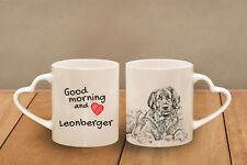Leonberger -  Becher mit einem Griff in der Form des Herzens DE