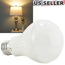 5-Pack 110V 7W LED A19 Light Bulb 50W Equivalent Warm White 2800K 620lm E26 5X