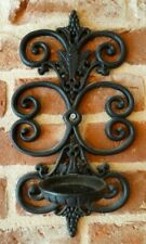 cast iron candle sconce