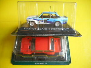 DIE CAST FIAT 131 Abarth 1/43 - Abarth rally (238010%S5) lotto