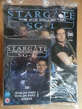 DVD COLLECTION STARGATE SG 1 PART 58 + MAGAZINE - NEW SEALED IN ORIGINAL WRAPPER