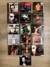 Marilyn Manson CD Sammlung TOP Einzigartig 19 CD?s Rarität