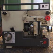 Proiettore Silma Super 8 S99 VARIO-TRAVENON 1:1,5/16,5-30 WILL-WETZLAR projector