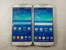 Lot of 2 - Samsung Galaxy S4 SCH-I545 16GB White Verizon *Check IMEI*