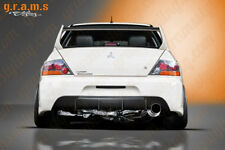 Mitsubishi Lancer Evo VII VIII IX Rear Bumper with Real CARBON FIBRE Diffuser v6