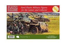 Plastic Soldier Company BNIB 1/72nd German Sdkfz 251/C Halftrack WW2V20003