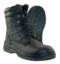Itasca Mens Authority 8'' Boot Black Size 14 Wide #NGXEX-M397