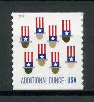 USA 2019 MNH Uncle Sam Sam's Hat Additional Ounce 1v Set Hats Stamps