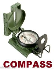 TRIPLE LENSATIC MILITARY STYLE  COMPASS  CAMPING BOAT ANTENNA OTA SATELLITE