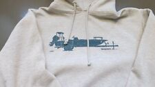 Simms Fishing Products Hoody Xl with Vintage Stickers!