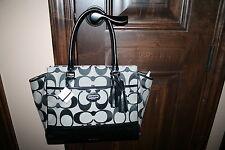 NWT Coach Legacy Candace Signature Black Purse Bag 24203 $348