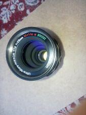 very rare lens nikon Ultra Micro NIKKOR 1:1.8 f=28mm M=1/10 e Late Model Type 5