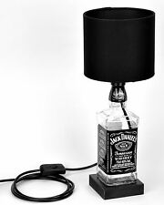 Jack Daniels JD Bottle Lamp with Black Light Shade Fathers Day Present Gift