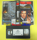 VHS film JAMES BOND 007 GOLDENEYE 1996 pierce brosnan MGM SCUDI (F61*) no dvd