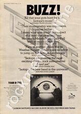 Isotope Illusion GULP 1006 Hull University MM4 LP/Tour Advert 1974