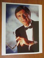 Vintage Glossy Press Photo Magician Mentalist & Author The Amazing Kreskin #2