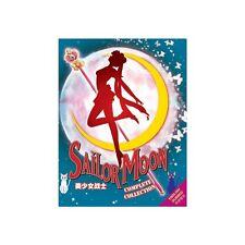 Sailor Moon Complete Collection DVD Season 1-6 (Crystal) + 3 Movies