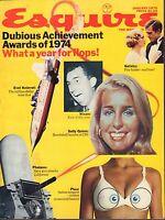 Esquire January 1975 Evel Knievel, Richard Nixon 050517nonDBE