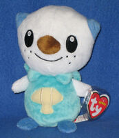 TY OSHAWOTT the POKEMON BEANIE BABY - MINT with MINT TAGS - UK EXCLUSIVE 2d20537a5c24