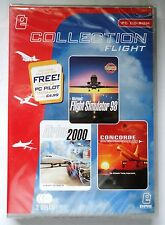 FLIGHT COLLECTION PC TRIPLE PACK SIMULATOR 98 AIRBUS 2000 CONCORDE new & sealed