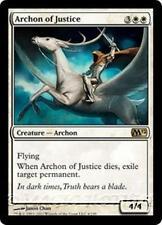 ARCHON OF JUSTICE M12 Magic 2012 MTG White Creature — Archon RARE
