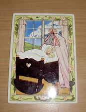 Porcelain Vilbocard Postcard Vilbo Card Girl Baby Happy Event Heseler