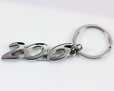 Métal chromé Peugeot 206 Key Chain Porte-clé GTI