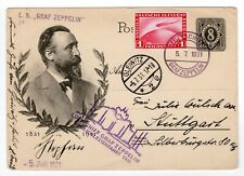 "1931 On Board Graf Zeppelin Flight Gleiwitz ""L.S.,Graf Zeppelin"" Straight-line"