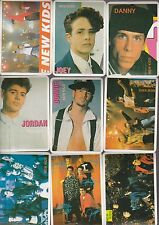New Kids On The Block 1993 12 Card Portuguese Calendar Set