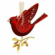 2015 Hallmark Ruby Red Cardinal Metal Ornament