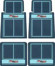 OER Dark Blue/Blue/Light Blue Carpet Floor Mat Set 1955-1957 Chevy Bel Air
