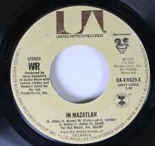 Soul 45 War - In Mazatlan / Why Can'T We Be Friends? On United Artists Records