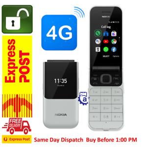 New Nokia 2720 (4G/LTE, Flip Phone,WiFi hotspot,keypad ) Grey AU-STOCK