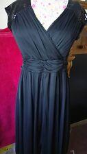 Señoras vestido fiesta noche talla plus o por Praslin Talla 16 Nuevo con etiquetas