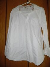 Old Navy Women's Off of White Blouse Shirt Top Sz  XL
