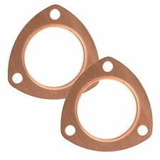 "MAXX 177 3"" Copper Exhaust Header Pipe Collector Flange Gaskets Set"