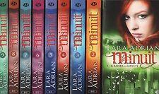 MINUIT tomes 1 à 9 LARA ADRIAN roman FANTASY bit-lit lit livre roman série