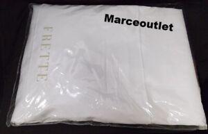 Frette Single Ajour Cotton Sateen Collection KING Sheet Set White
