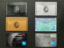 American Express CENTURION Bundle : 6 cards. Authentic. Ultra RARE. Collectible.