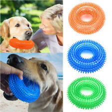 Pet Dog Rubber Chew Toys for AggressiveBoredom Chewers Dental Teething Cleaning