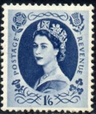 1955 Sg 556 1s6d grey-blue St Edward's Crown Unmounted Mint