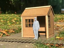 STATION HALT OR HUT FOR GARDEN RAILWAY IN G SCALE. COMPLETE KIT - GN15 too