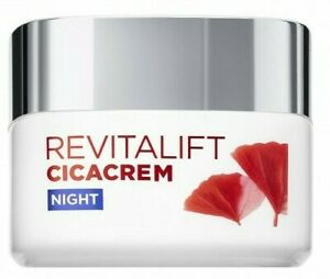 L'Oreal Revitalift Cicacrem Anti Wrinkle + Repairing Cream Night 50ml