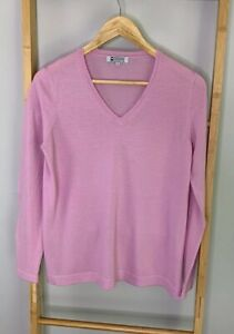 Merino Collection Australian 100% Wool Size S Pink Sweater Jumper