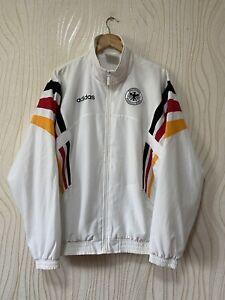 GERMANY 1996 1998 FOOTBALL SOCCER COAT JACKET ADIDAS sz L MENS