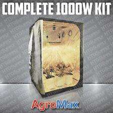 COMPLETE 1000 watt GROW TENT w LIGHT KIT SYSTEM 1000w ballast hood soil ALL ITEM