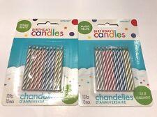 Amscan Magic Re-lite Birthday Candles 2 Packs 24 Ct NEW