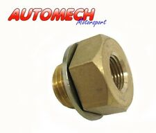 Oil Pressure, Water Temperature Gauge Adapter M14/1.5 to 1/8 NPT Ford (065)