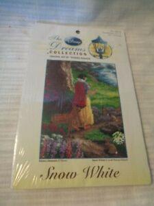 The Disney Dreams Collection Thomas Kinkade Snow White Crosstitch Kit